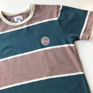 im Imperial Motion striped tee 100% cotton large